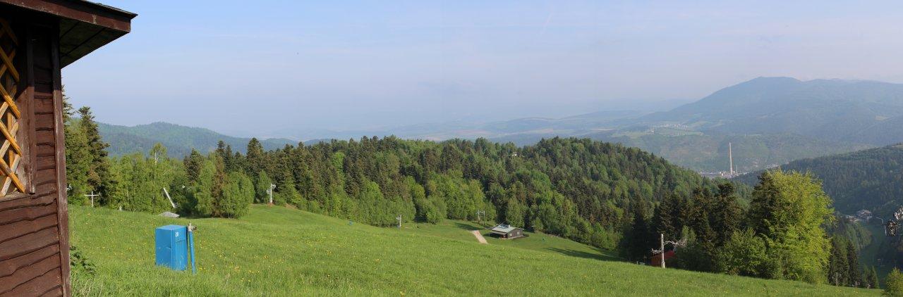 Magnezitárska 60tka 2018 – Výhľad z Krompašského vrchu