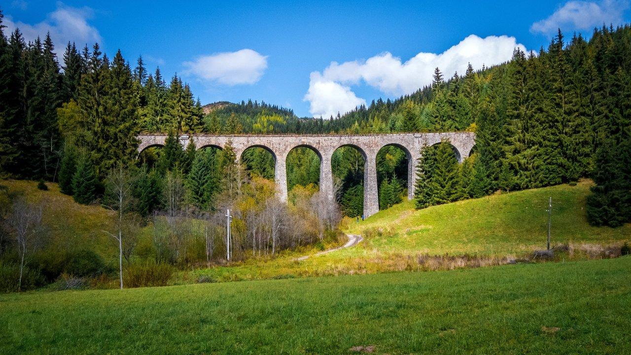 Chmarošský viadukt – Ľadový expres 2019