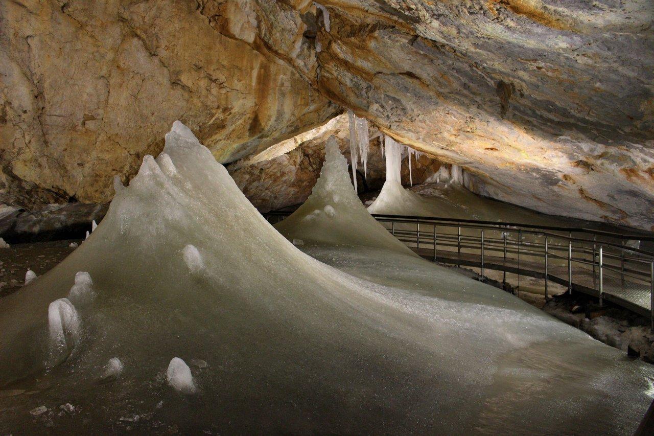 Dobšinská ľadová jaskyňa, Ľadový expres – 1