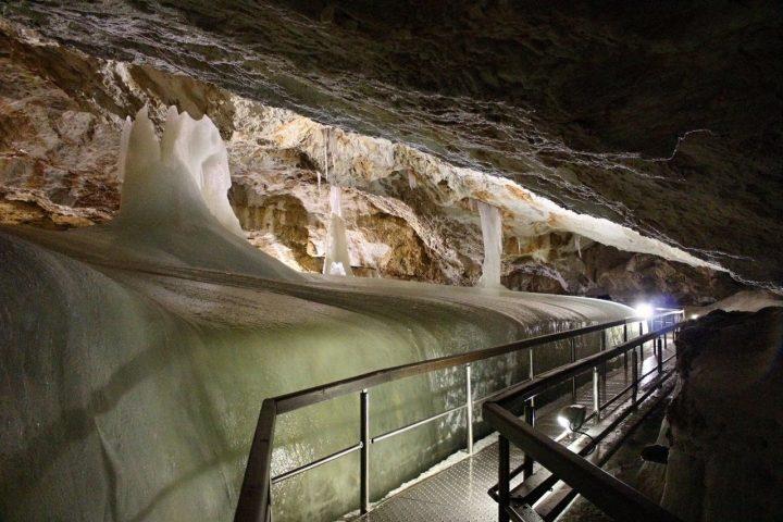 Dobšinská ľadová jaskyňa, Ľadový expres - 3