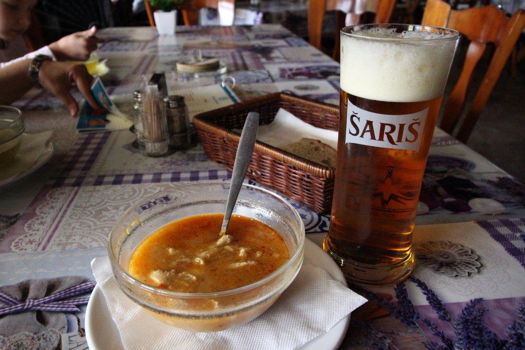 Držková polievka, Reštaurácia Dobšinská ľadová jaskyňa, Ľadový expres