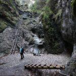 Okienkový vodopád, Suchá Belá, Slovenský raj