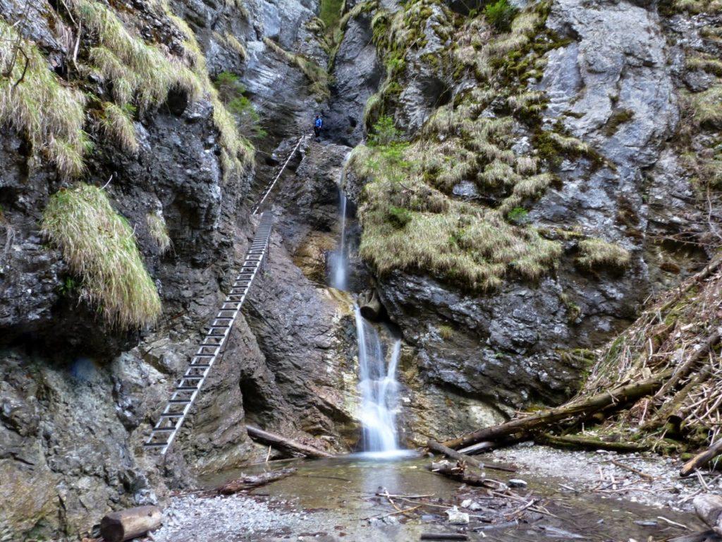 Misové vodopády na jar, Suchá Belá, Národný park Slovenský raj - 1