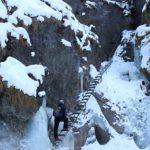 Misové vodopády v zime, Suchá Belá, Národný park Slovenský raj - 3