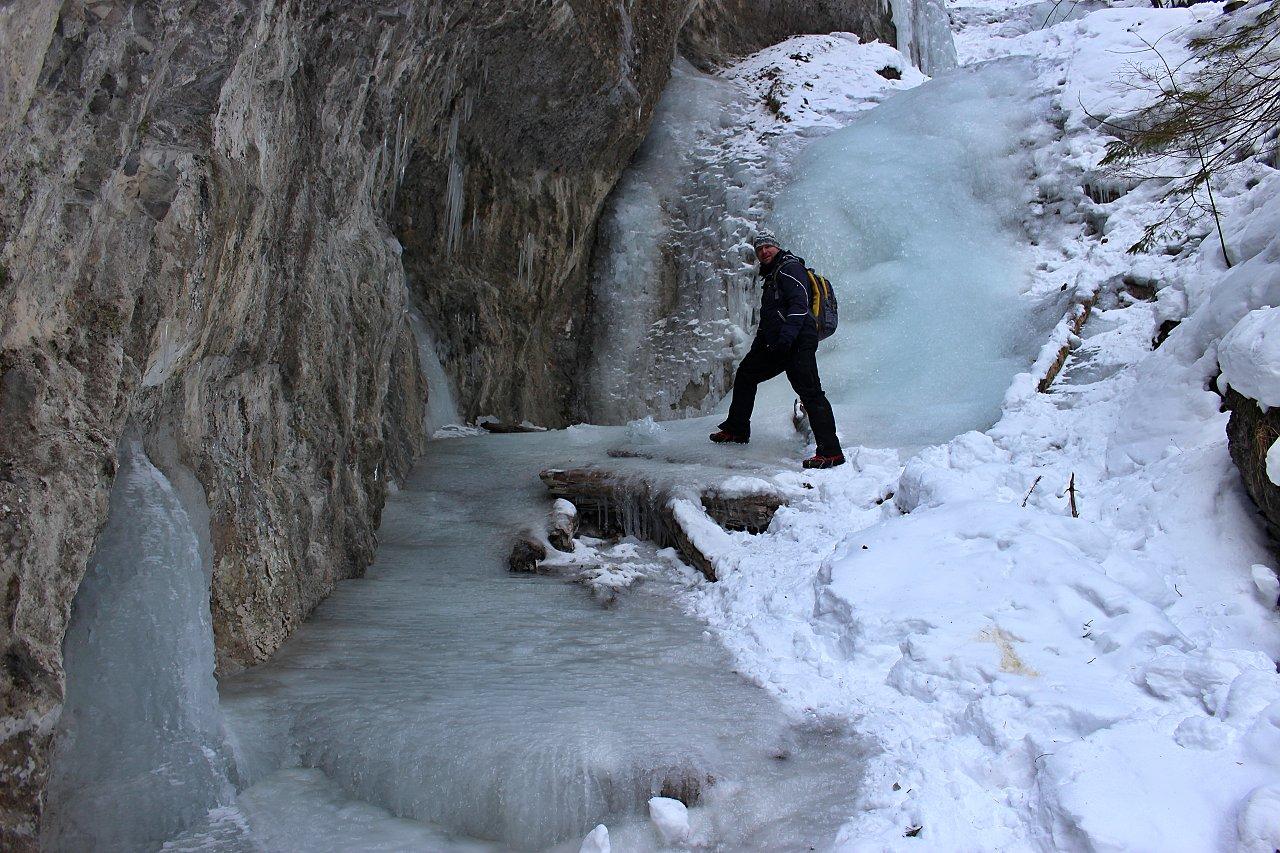 Bočný vodopád, Suchá Belá, Národný park Slovenský raj – 5