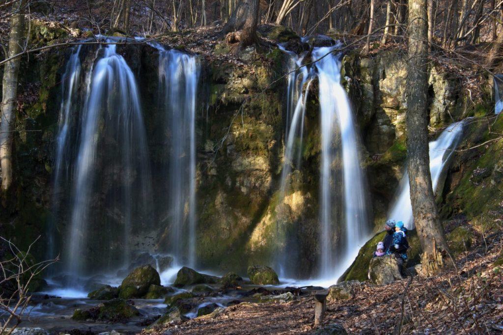 Hájske vodopády, Slovenský kras