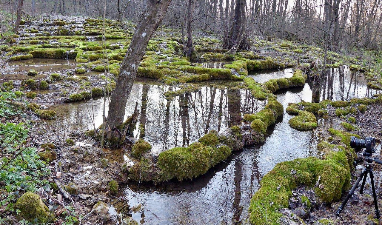 Krasové priehradky a penovcové jazierka, Krásnohorská jaskyňa, Slovenský kras