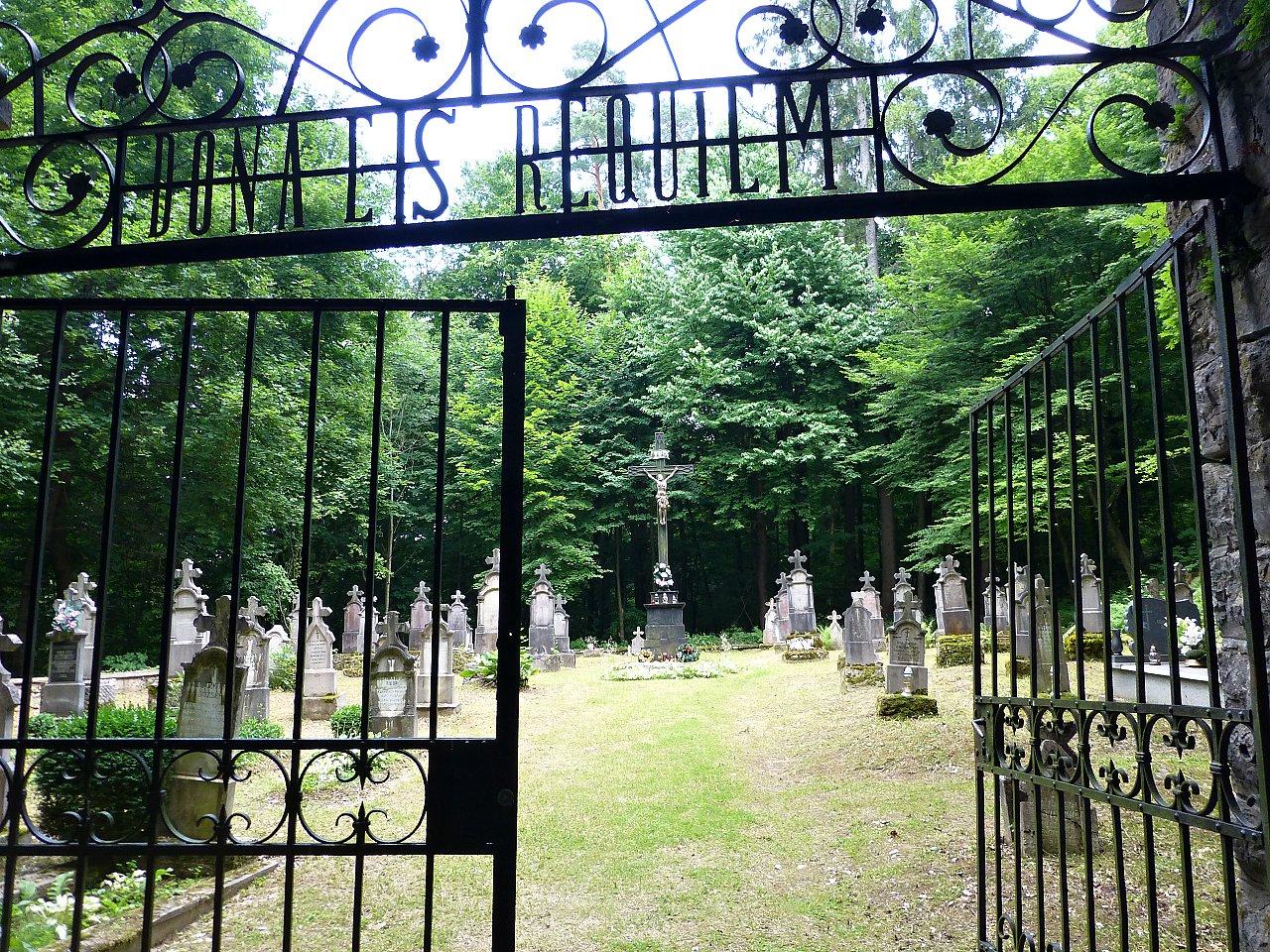 Starý cintorín v Jasove, Slovenský kras