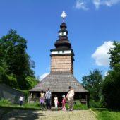 Drevený kostolík, Záhrada Kinských, Praha, Česká republika
