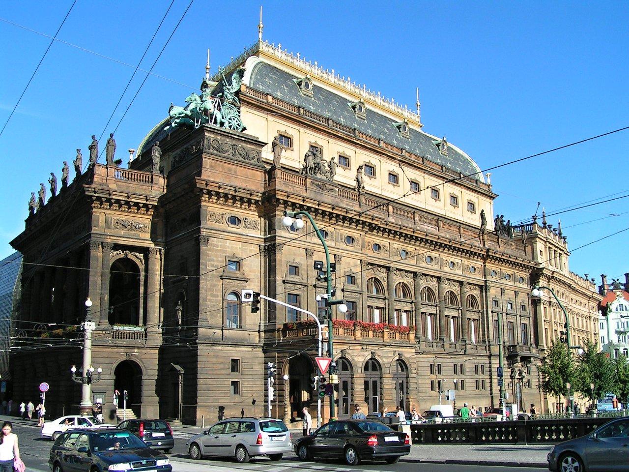 Národní divadlo, Praha