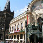 Prašná brána a Obecní Dům, Praha