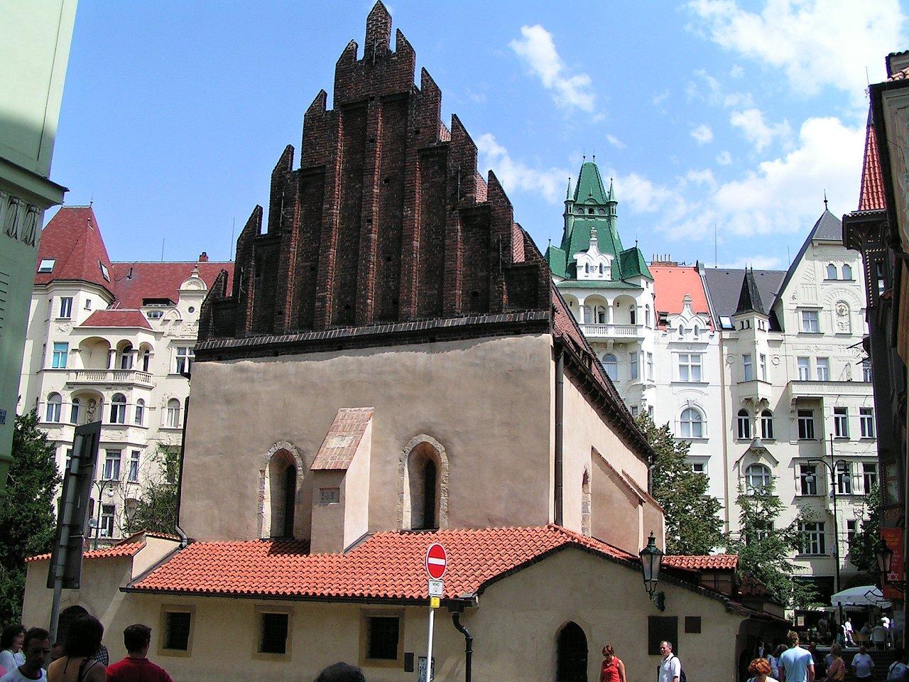 Staronová synagoga, Pražské Židovské mesto Josefov, Praha