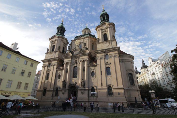Staroměstské náměstí - Kostel sv. Mikuláše, Praha
