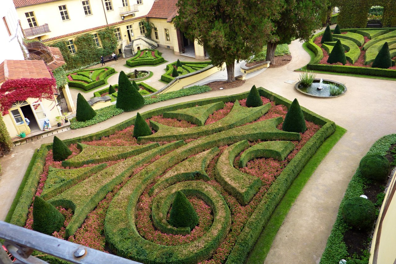 Vrtbovská zahrada, Praha, Česká republika