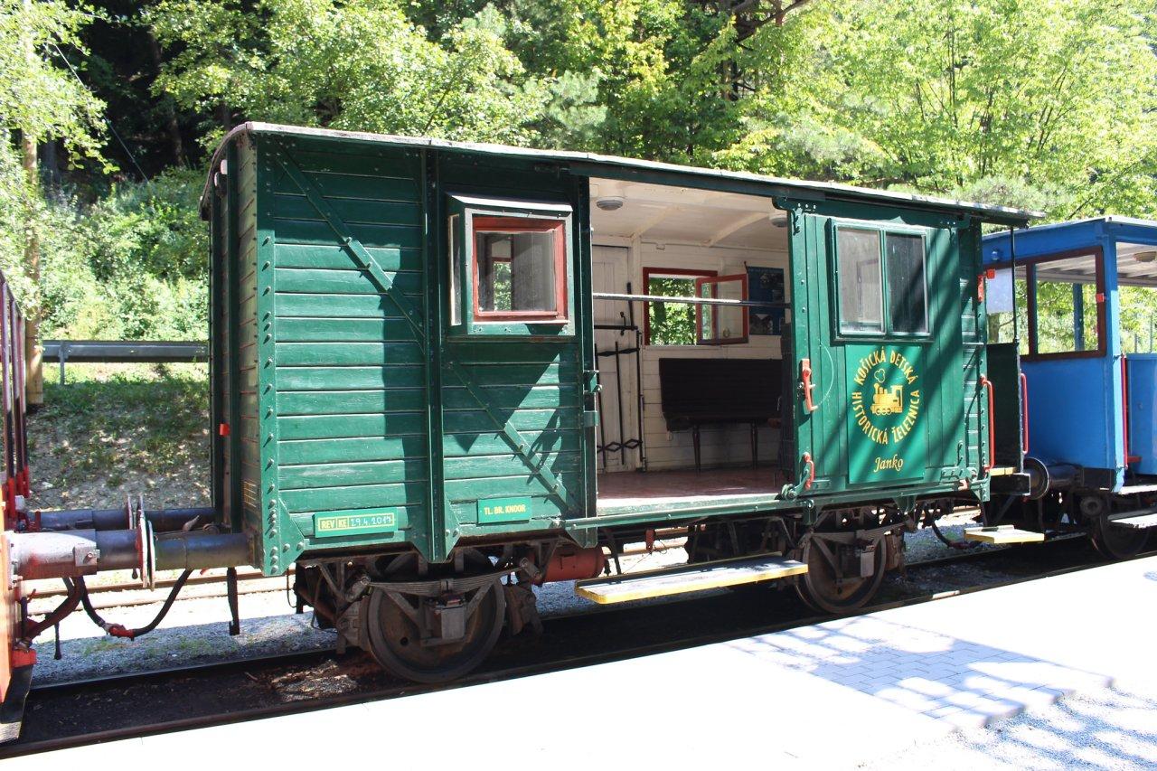 Košická detská železnička na Alpinke