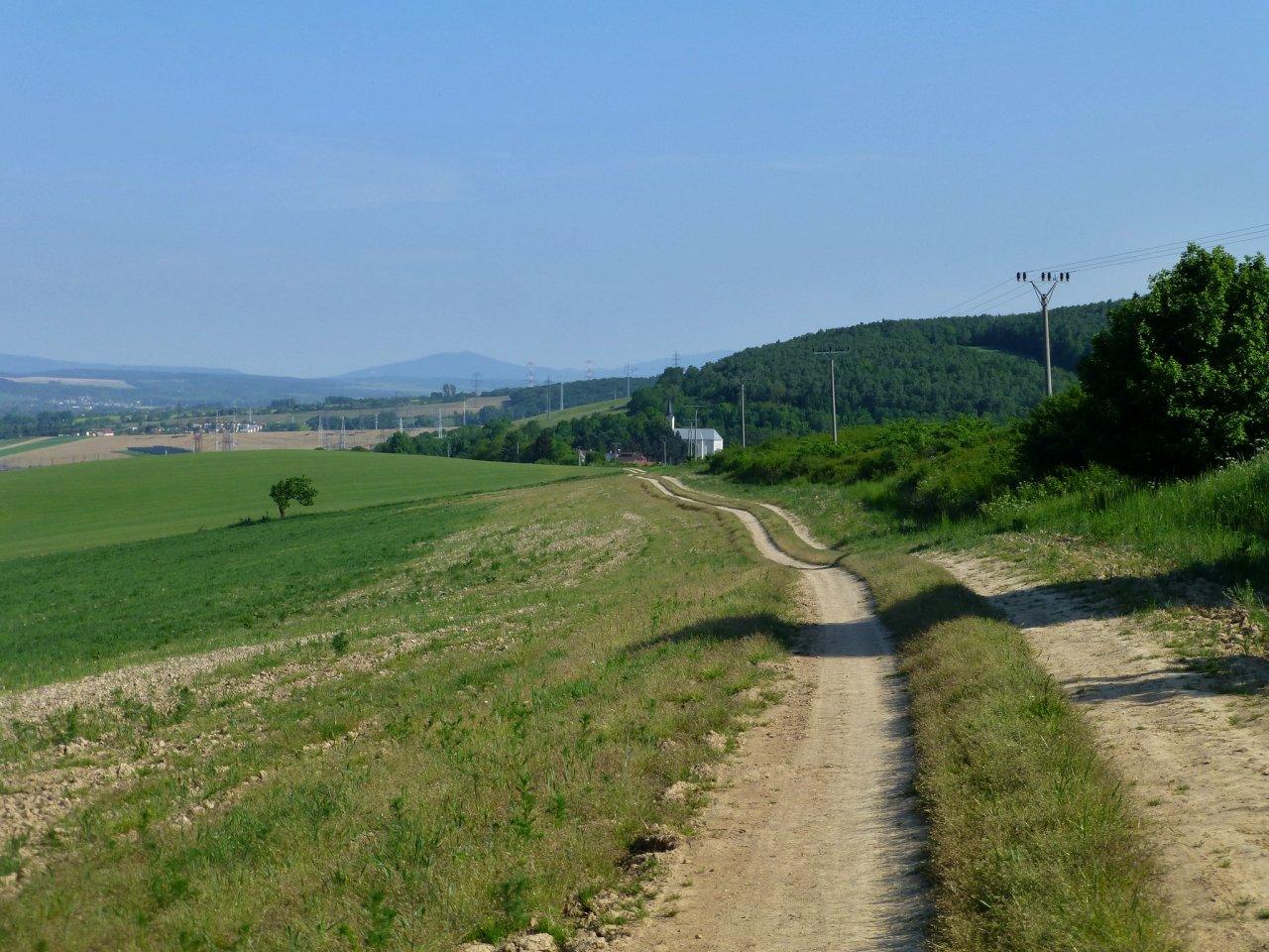 Poľné cesty od Kendického kríža po Obišovce 2