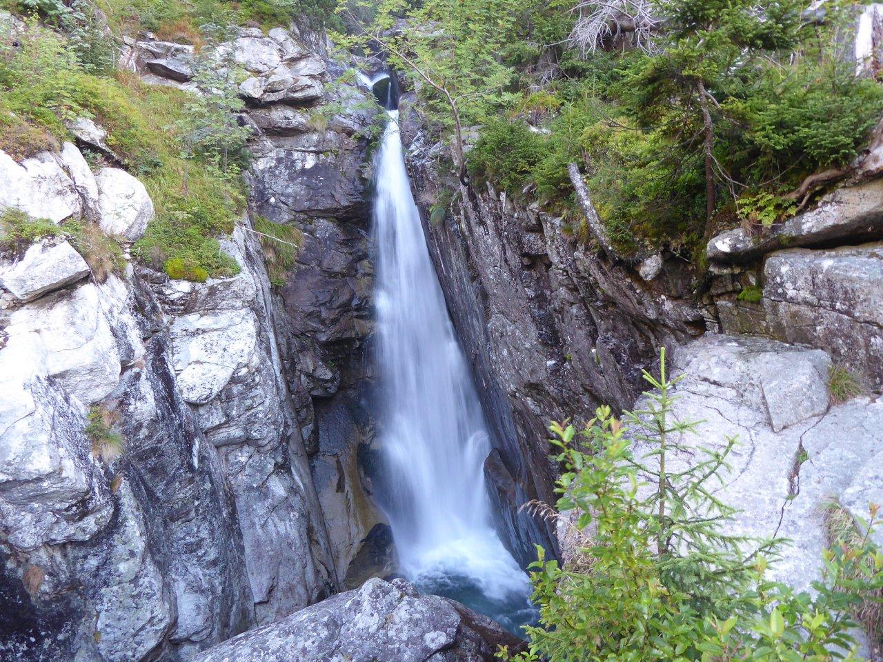 Obrovský vodopád, Vysoké Tatry, Slovensko
