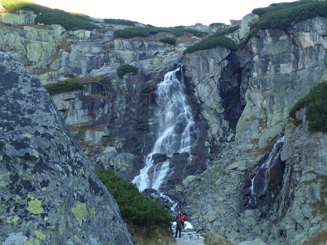 Vodopád Skok, Mlynická dolina, Vysoké Tatry, Slovensko