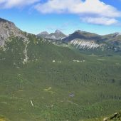 Výhľad z Veľkej Svišťovky do Doliny Zeleného plesa