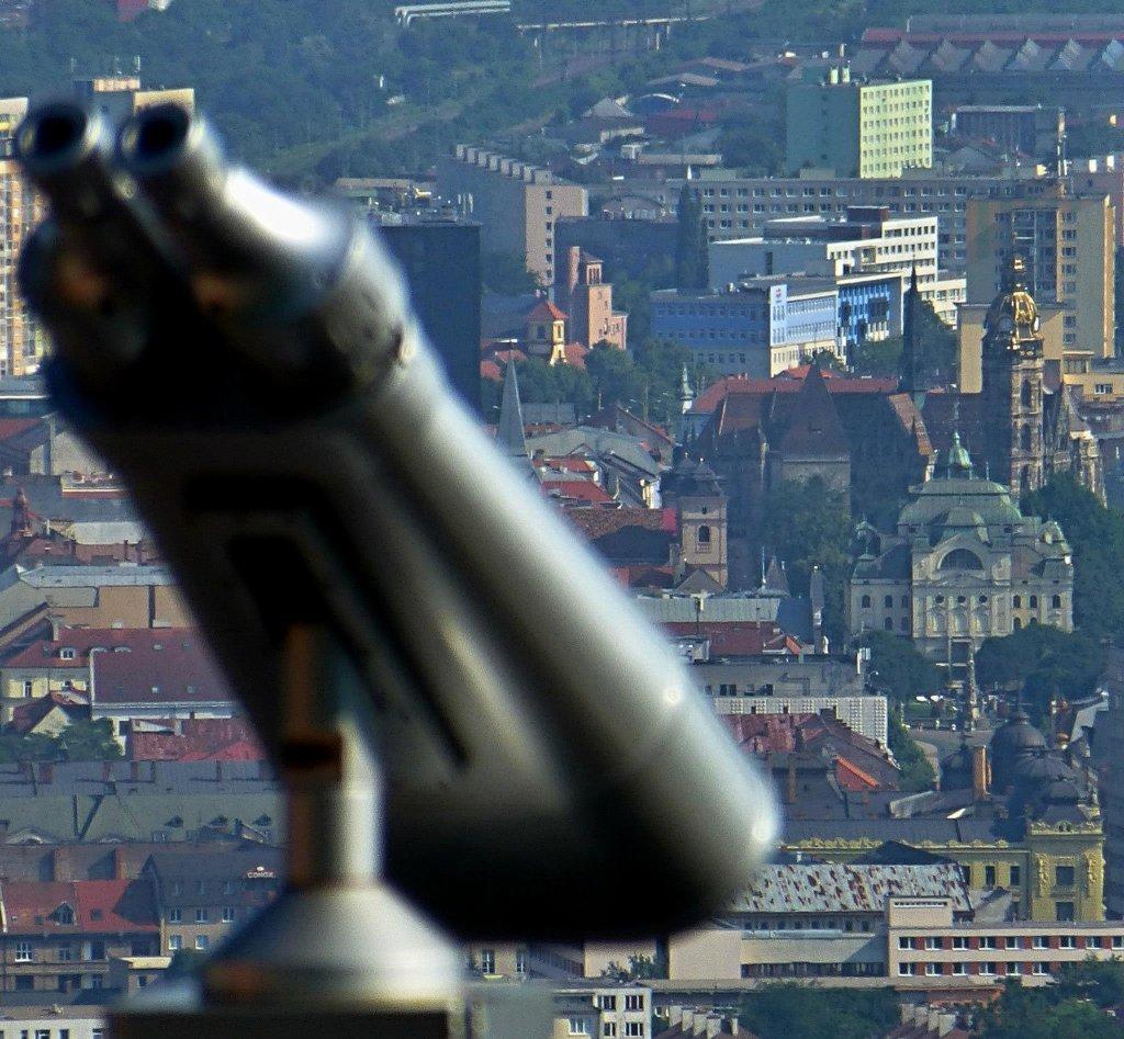 Turistika Košice – Vyhliadková terasa