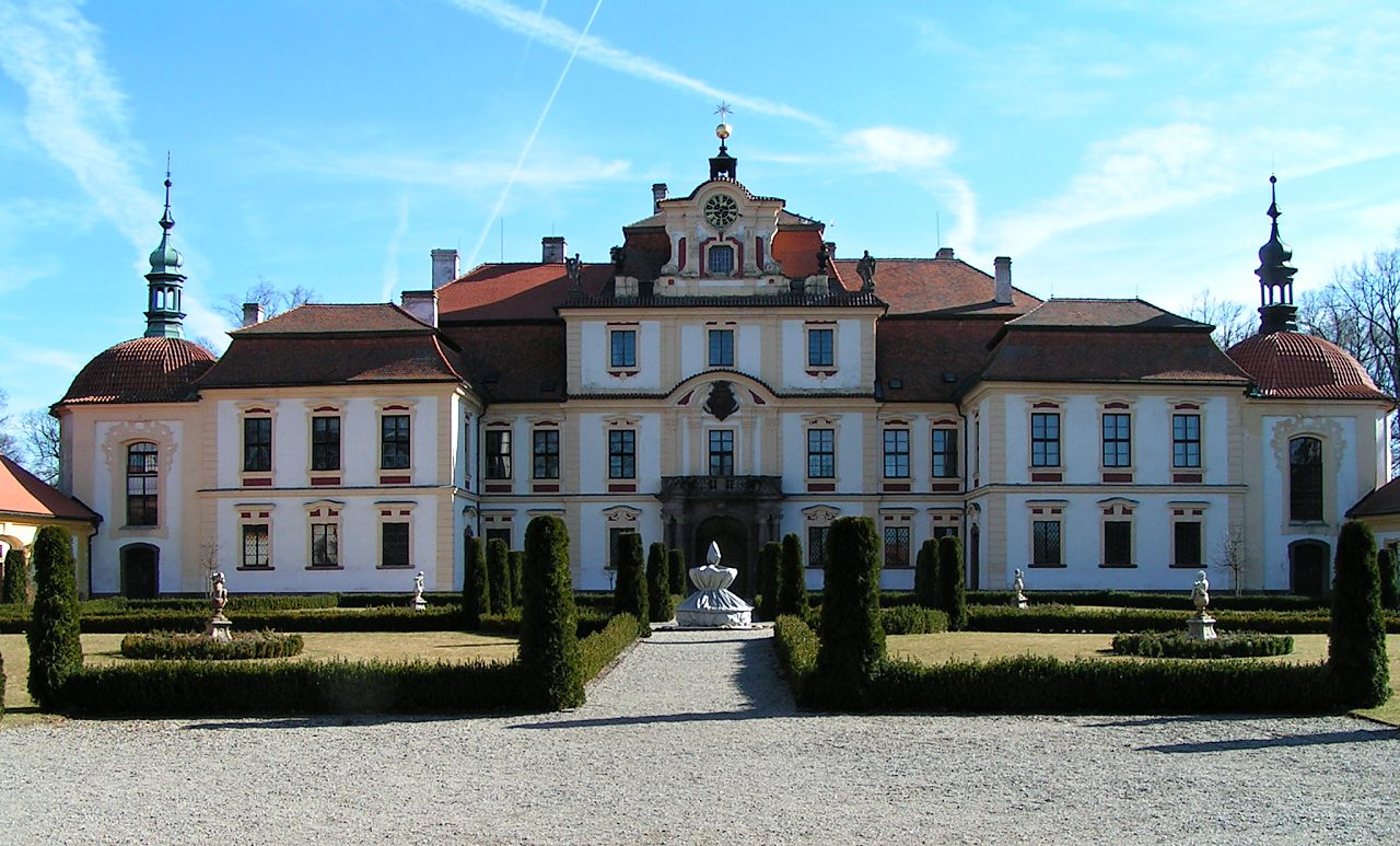 Zámok Jemniště, Česko